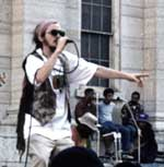 SEEFARI chants down Babylon at the Dayton Third World Reggae Festival 2001